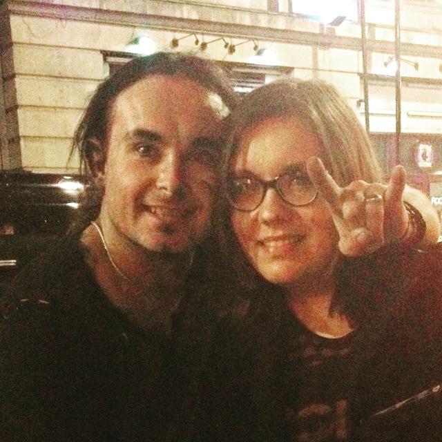 Dani Filth and Amanda Winchester