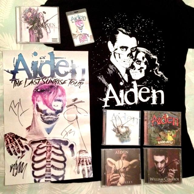 Aiden Merchandise