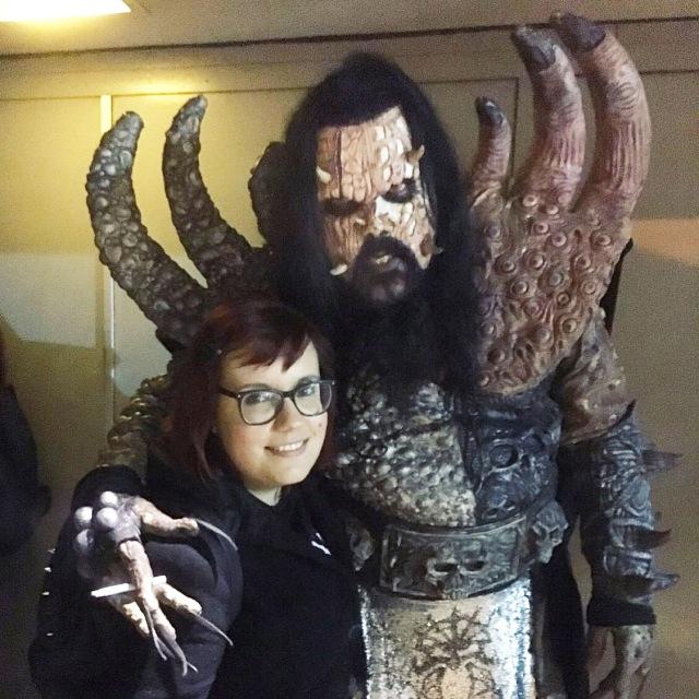 Lordi and Amanda Winchester
