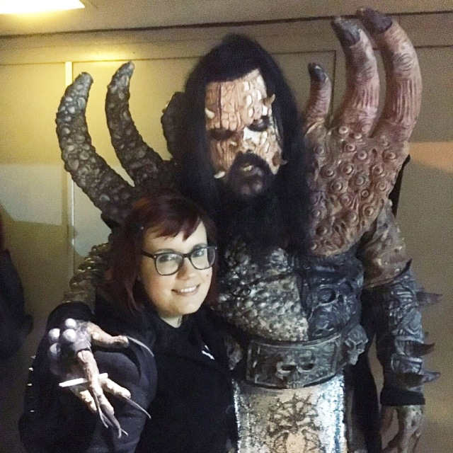 Lordi and Amanda Winchester